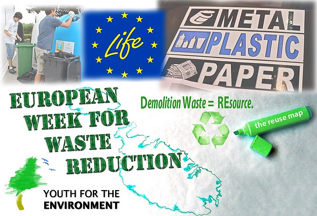 Activities for the European Week for Waste Reduction