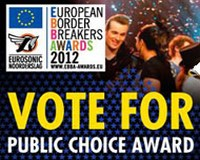 Vote for the best of ten European Border Breakers for 2012