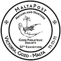 Special Hand Postmark – Gozo Philatelic Society Exhibition
