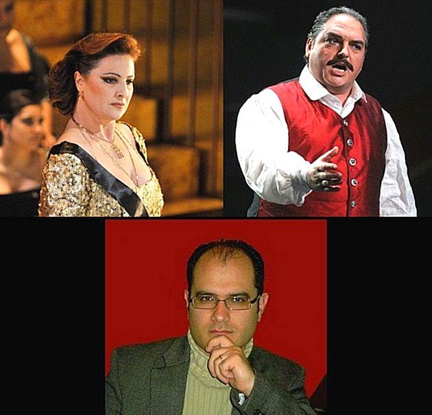 'Grand Operatic Concert'  tomorrow at the Aurora Theatre