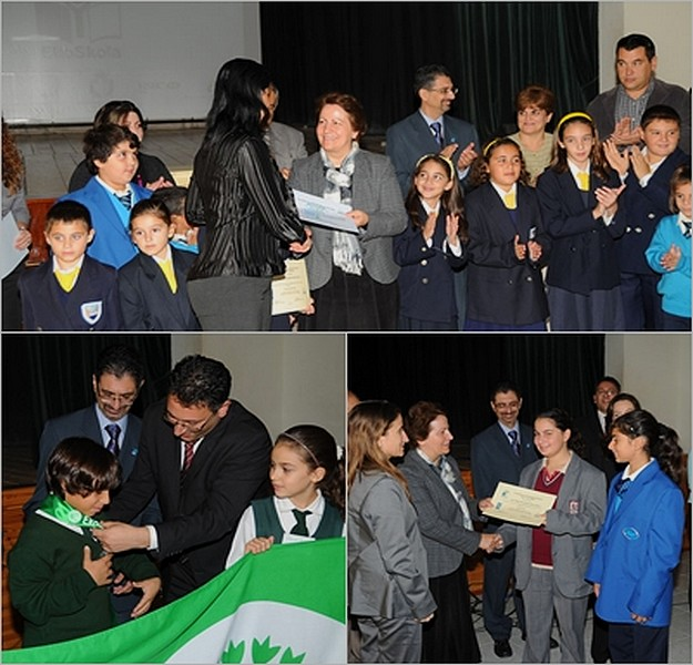 Green Flag Awards for Ghanjsielem & Xewkija schools