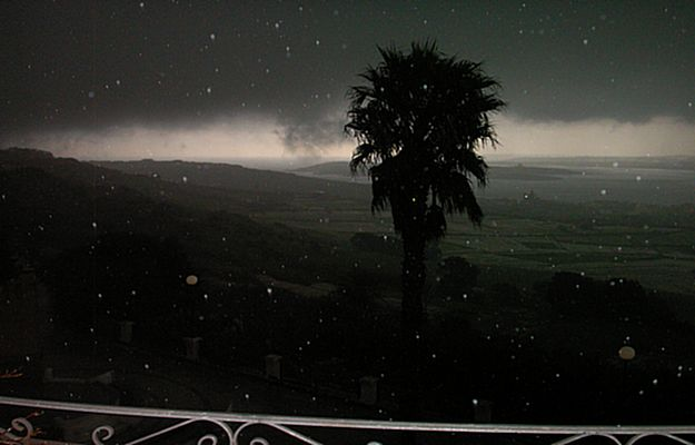 Thunderstorms, heavy rain & hailstorms sweep across Gozo