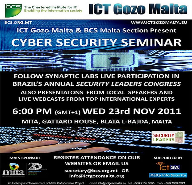 International Cyber Security Awareness Seminar in Malta