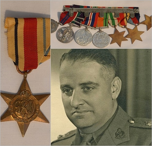 Donation of a set of medals to the National War Museum