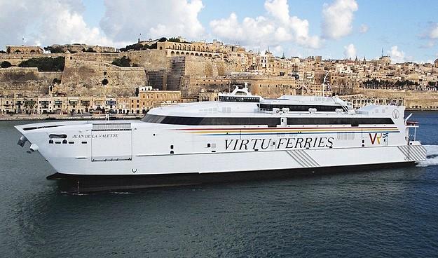 MaltaPost Service on board the M.V. Jean De La Valette