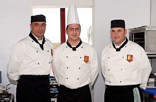 Maltese military chefs win medals at the Malta Kulinarja 2011