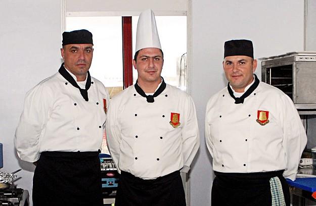 Maltese military chefs win medals at the Malta Kulinarja 2011