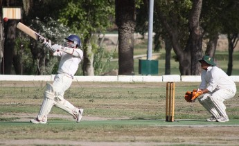 Krishna C.C. wins the first of the 40 over Winter series