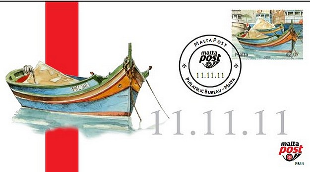 MaltaPost to issue Eleventh Philatelic Bureau Card 11.11.11