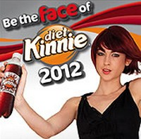 The search is underway for the Face of Diet Kinnie 2012