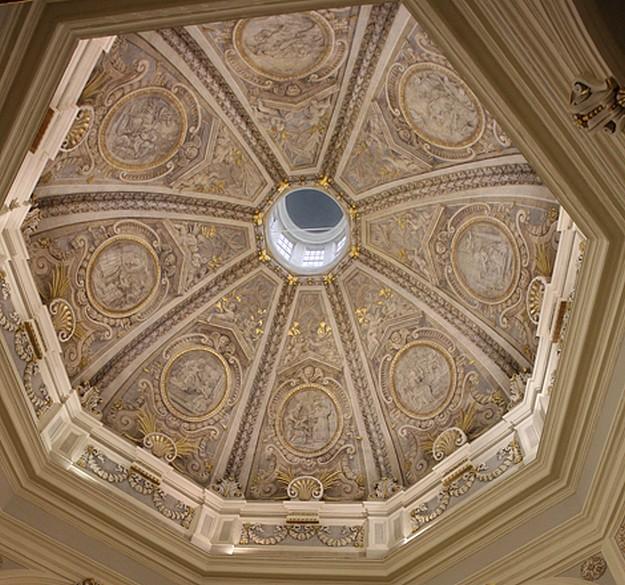 Sta. Caterina d'Italia Main Cupola inaugurated today