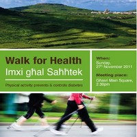 'Walk for Health' on the occasion of World Diabetes Day