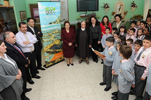Eco-Gozo scheme of up to €3000 launched for Gozo schools