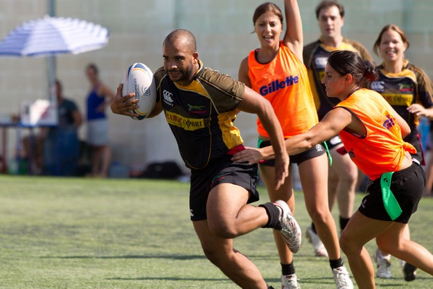 Nordic Bar sponsor Malta International Tag Rugby Festival