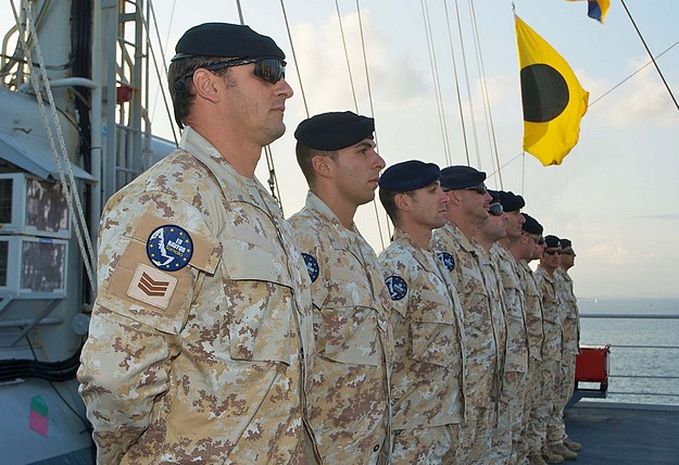 AFM team returns from anti-piracy duties off Somalia
