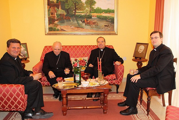 Cardinal Francesco Monterisi makes his first visit to Gozo