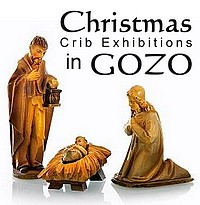 Crib Exhibitions around Gozo for Christmas & the New Year