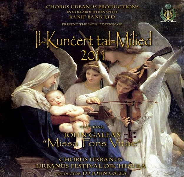 The 14th edition of Il-Kuncert tal-Milied with Chorus Urbanus