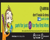 €1 for the first 4 hours at Floriana Park and Ride with Arriva