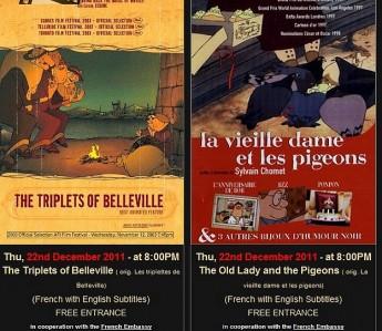 Gozo Film Club presents two animation movies this Thursday