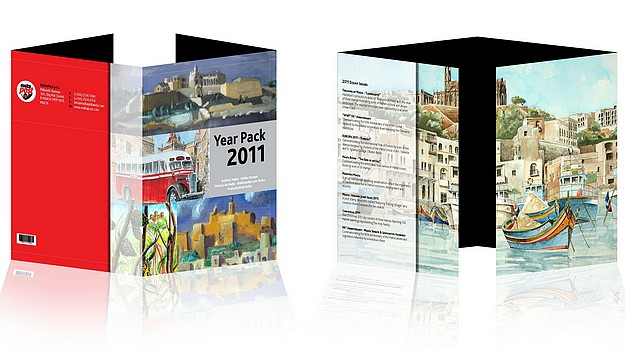 MaltaPost to Issue the Year Pack with all 2011 Stamps