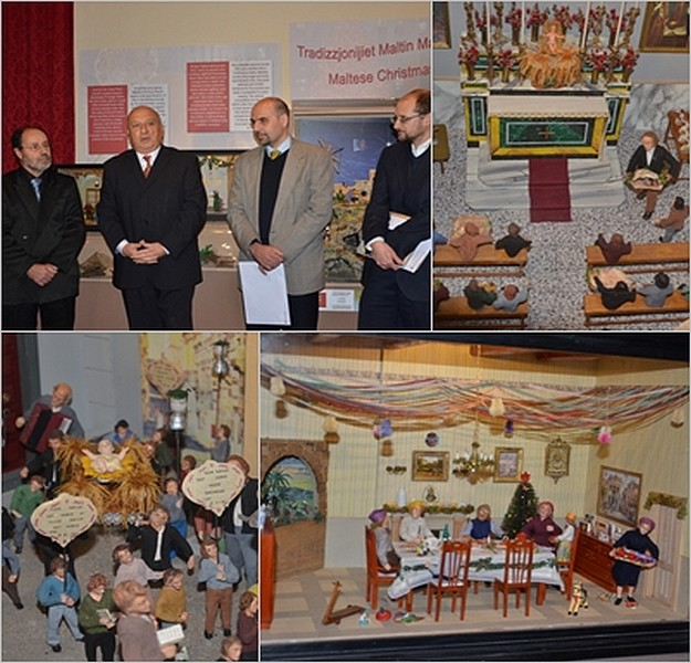 Inquisitor's Palace display of Maltese Christmas Traditions