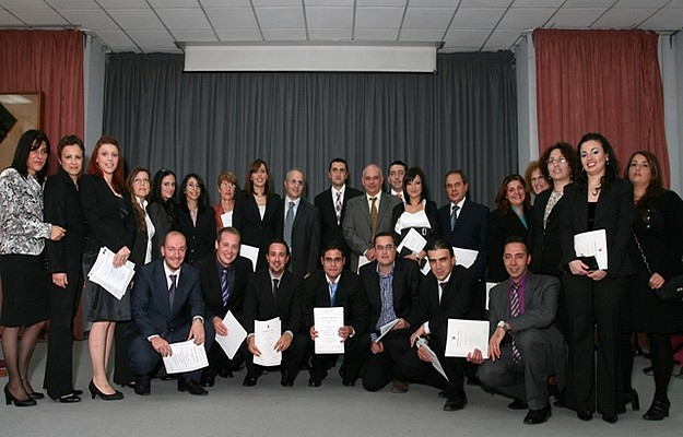 Students successfully certified as proofreaders of Maltese