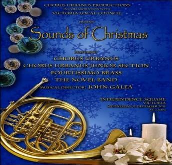 'Sounds of Christmas' a concert with Chorus Urbanus