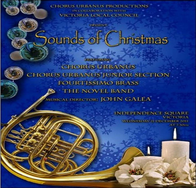 'Sounds of Christmas' a concert with Chorus Urbanus