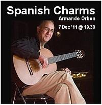 Spanish Charms - Spanish Guitar Concert by Armando Orbon