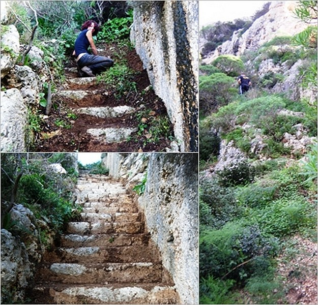 Victoria Lines staircase 'discovered' by Maltese climbers
