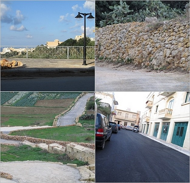 Xaghra Local Council work projects nearing completion