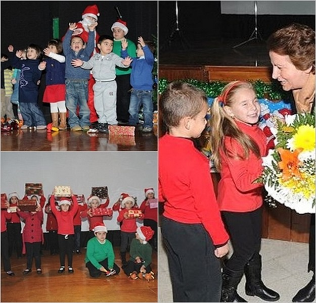 Xaghra School children enjoy the annual Celebration Day