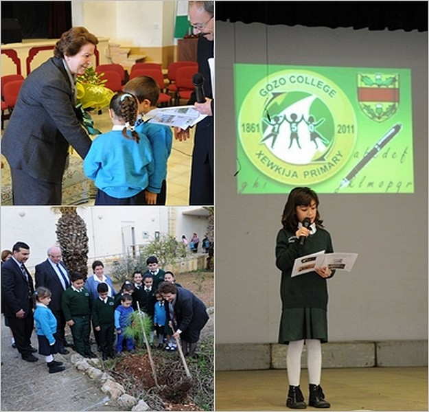 Xewkija Primary School celebrates its 150th anniversary