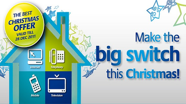 Melita launches its new Christmas home package offer
