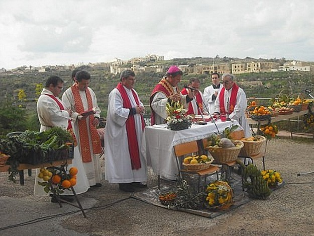 The Feast of St Blaise celebrated at San Blas in Nadur