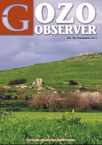 25th edition of the Gozo Observer, a Gozo Campus journal