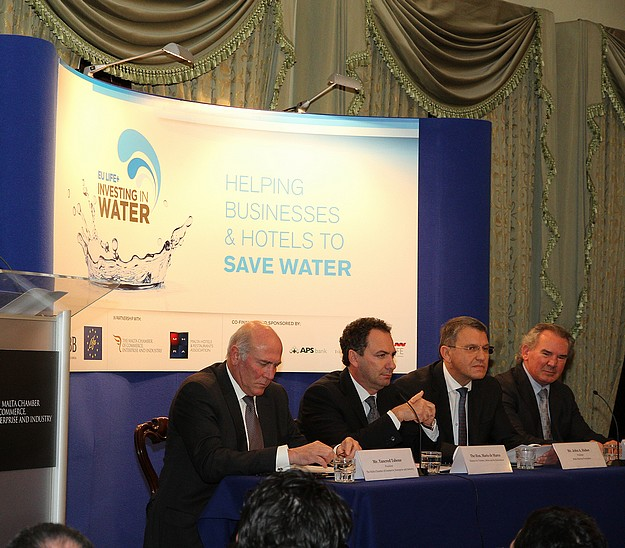 The EU LIFE+ Investing in Water Project launched in Malta