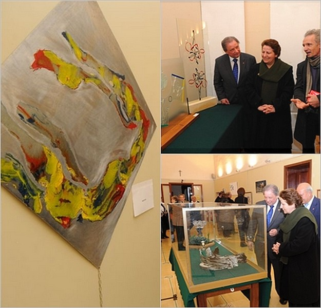 Olympics themed art exhibition inaugurated in Gozo