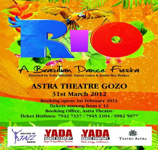 RIO a Brazilian dance extravaganza - YADA Dance Company