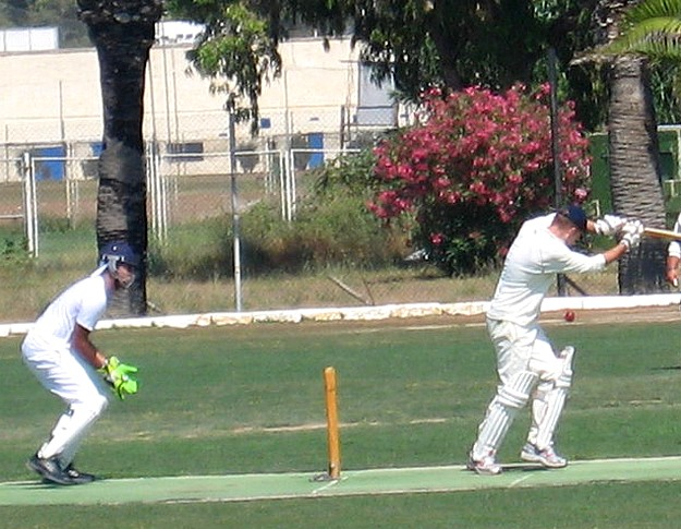 Marsa C.C win thier first game in the 20 over Winter League