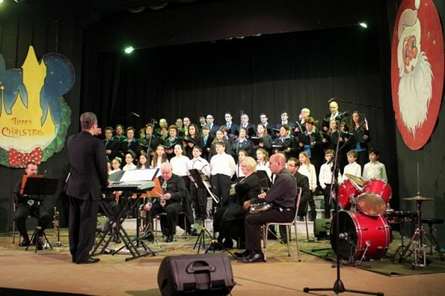 The joyful sounds of the Chorus Urbanus festive concert