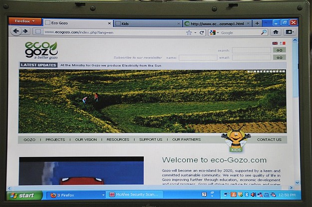 Ministry for Gozo launches the new eco-Gozo website
