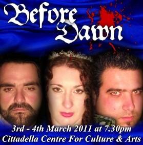 'Before Dawn' a new Gozo Creative Theatre Club production