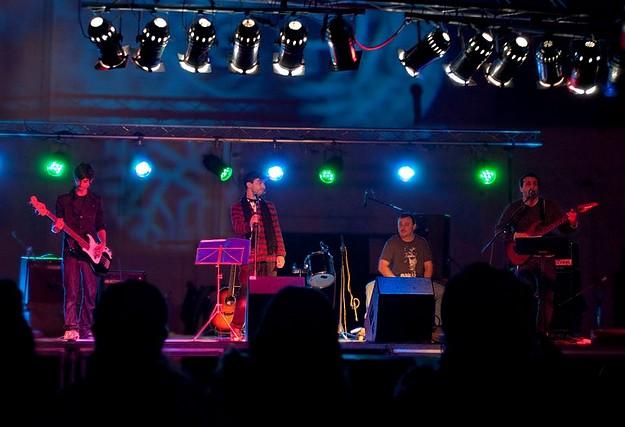 Gozitan Band Divine Sinners perform at charity rock concert