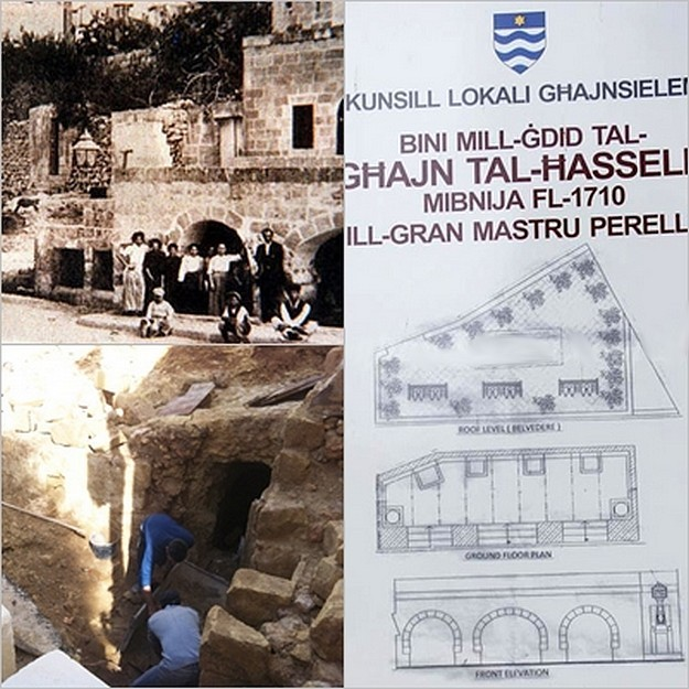 Work starts on Ghajnsielem's historic 'Ghajn tal-Hasselin'