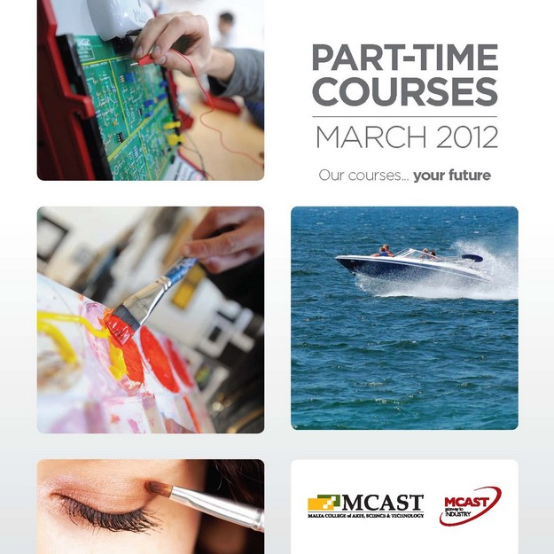 More new MCAST part-time courses starting next month