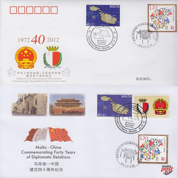 Forty years of diplomatic relations between Malta & China