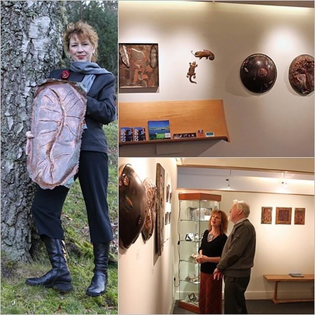 Gozo artist Jackie Roberts opens solo exhbition in Scotland