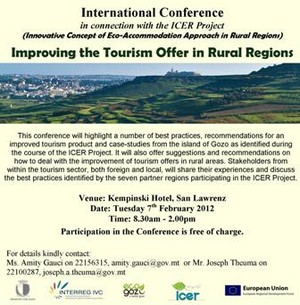 Conference on Improving the Tourism Offer in Rural Regions